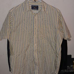 American living large button up